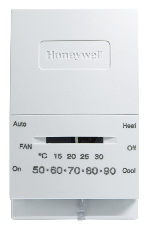 Honeywell Heating And Cooling Lever Thermostat